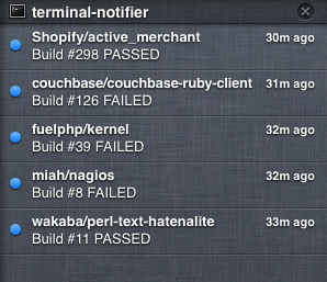 Apple Notifications Center